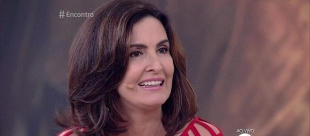 Fátima Bernardes ficou contente com a previsão