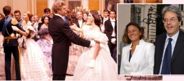 Paolo Gentiloni Silveri con la moglie Emanuela Mauro