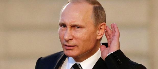 Putin em litígio com os Estados Unidos
