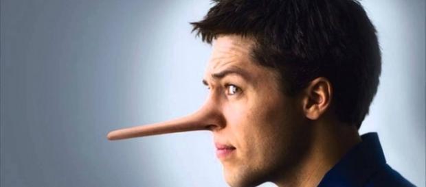 'Se você mentir, seu nariz cresce'