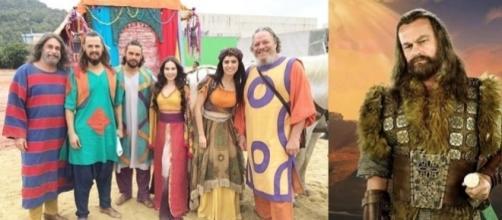 Acã e os Saltimbancos Hebreus em 'A Terra Prometida'