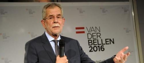Alexander Van der Bellen è il nuovo presidente austriaco