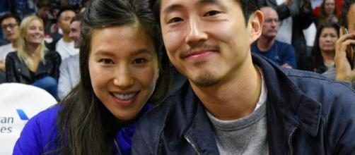 """The Walking Dead"""" Star Steven Yeun Gets Married -- See His ... - toofab.com"""