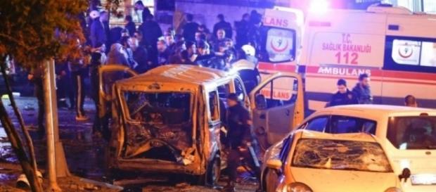Coche bomba en el atentado de Estambul