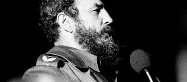 Fidel Castro speaking in Havana, 1978 / Photo by Marcelo Montecino - http://www.flickr.com/photos/marcelo_montecino/9609361/