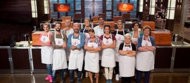 MasterChef Celebrity Italia: ecco i 12 concorrenti