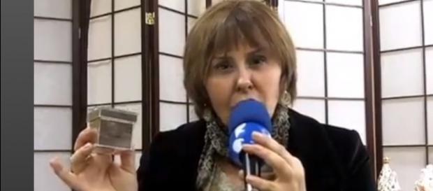 A sensitiva Márcia Fernandes, diz ter visto os espíritos dos jogadores da Chapecoense, logo após o acidente.