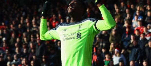 Origi marcou o segundo do Liverpool, mas sorriso desapareceu após fim do jogo