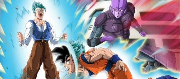 """The god of destruction would hire Hit to eliminate Son Goku. Image made by """"Sam Kan"""""""