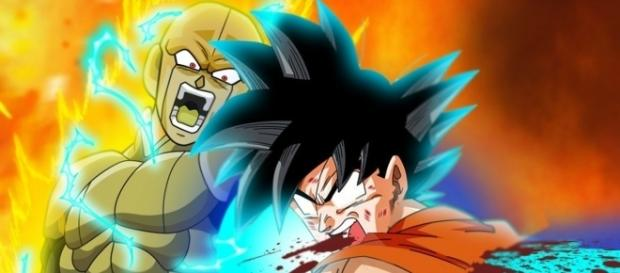 The way Goku dies is revealed: Hit's silent ability. (Image by Double4anime)