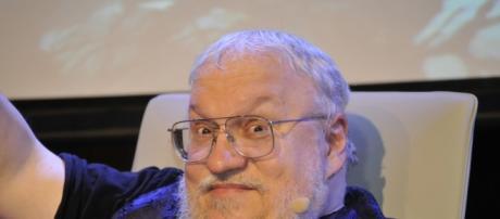 George R.R. Martin, autor de la saga 'Canción de Hielo y Fuego'.
