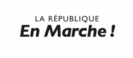 Logo LREM - candidature Macron - CC BY