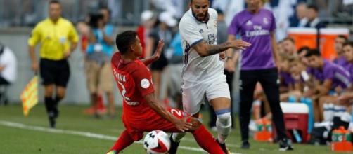 Jesé con la maglia del Real Madrid