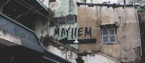 Mayhem image, Photo credit - Pexels, Pixabay.com