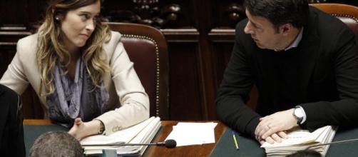 """Renzi su Boschi: """"Non deve lasciare, altrimenti vado via anche io ... - italia.co"""