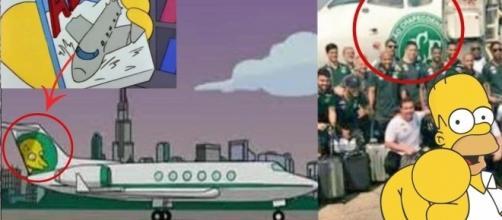 Simpsons, demônios, previsões e contatos paranormais, toda bizarrice plantada na internet sobre o acidente da Chapecoense