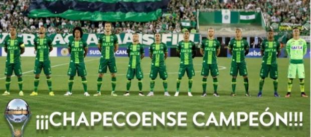 Chapecoense é declarada campeão da Copa Sudamericana