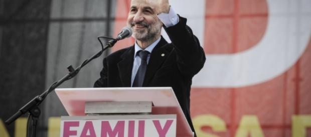 Massimo Gandolfini leader del Family Day
