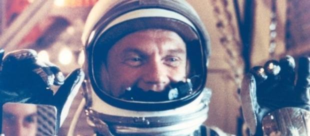 O astronauta John Glenn em 1962. Foto: Nasa