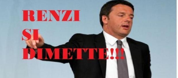 Renzi perde il Referendum e annuncia le dimissioni.