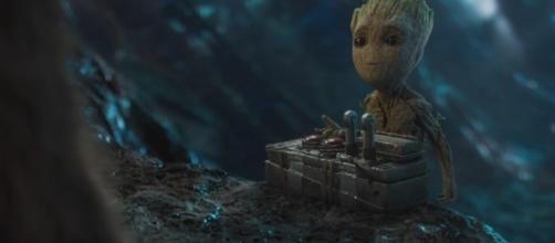 Baby Groot deve roubar a cena do novo filme da Marvel
