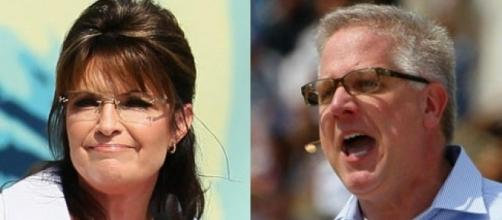 BATTLE OF THE BOZOS: Sarah Palin Attacks Glenn Beck--Hilarity ... - liberalamerica.org