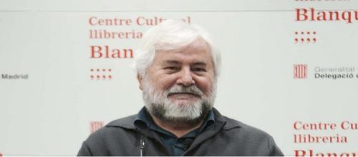 El presidente de AMESDE,Jaime Ruiz. Foto: Equipo gráfico CC Blanquerna.