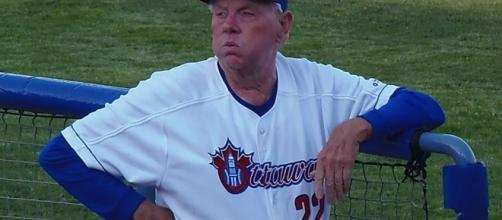 Hal Lanier will be back as skipper in 2017 for the Ottawa Champions/Photo by Ron Patey