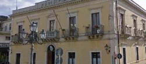 Il Palazzo Municipale a Solarino