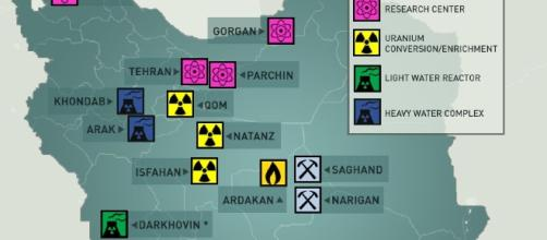 Iran is building a nuclear power plant on known active fault line Image UANI.com