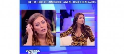 Karina Cascella contro Elettra Lamborghini