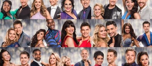 The cast of this year's 'Strictly Come Dancing'