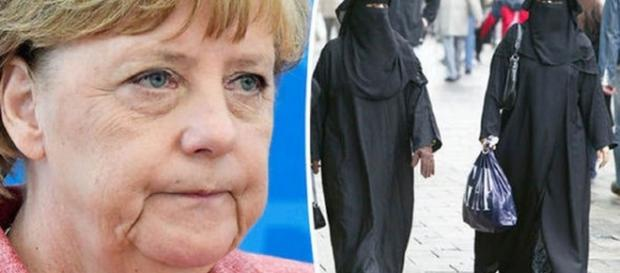 Cancelarul Angela Merkel cere ca burka să fie interzisă în Germania
