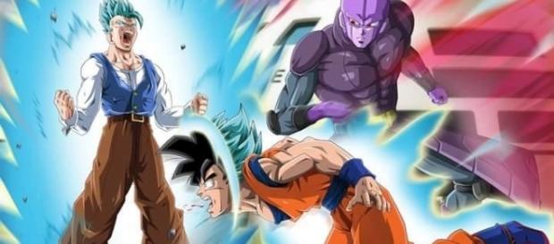 Fan art de M sobre la posible muerte de Goku en la serie