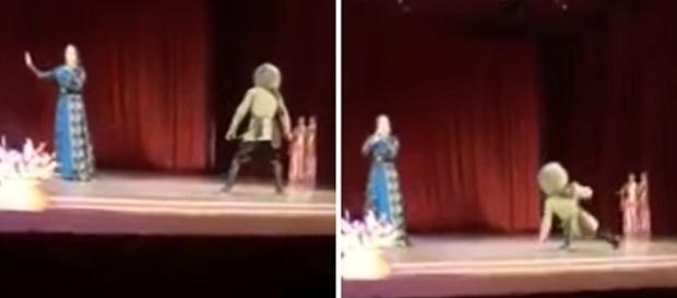 Homem morreu no palco durante show