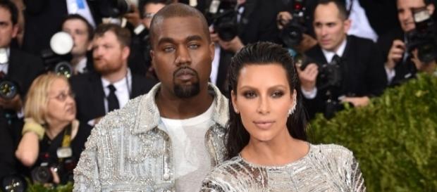 Kanye West & Kim Kardashian - inquisitr.com
