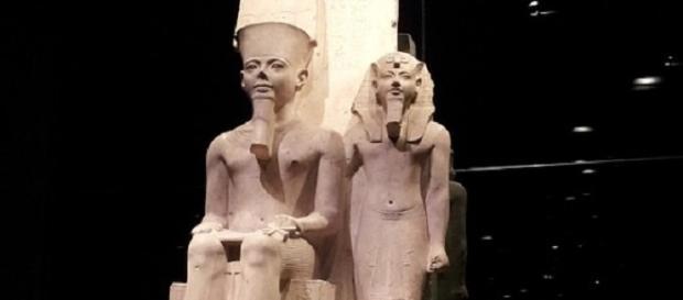 La mummia di Nefertari nel museo egizio di Torino
