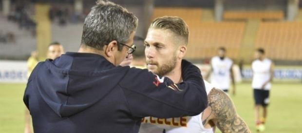 Messina - Lecce 0 - 3: La vittoria di Padalino