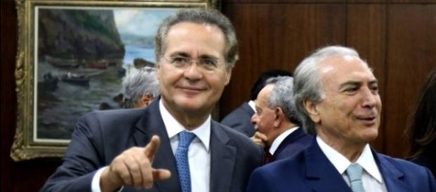 """Michel Temer estaria tentando """"salvar Renan Calheiros"""""""