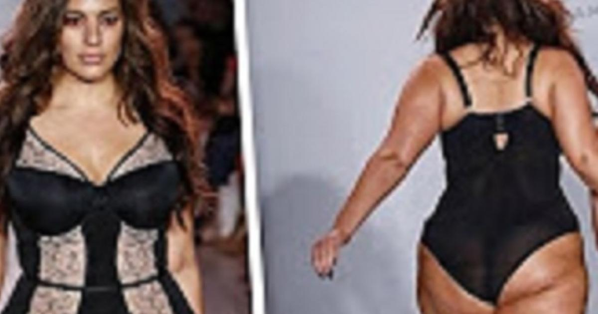 60cece6771a Ashley Graham wants Victoria's Secret modeling gig as Vogue designers shun  plus-size model