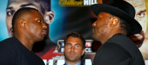 Dereck Chisora compares himself to herpes ahead of heavyweight ... - mirror.co.uk