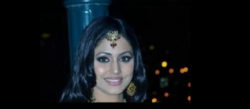 "Hina Khan in ""Bigg Boss Season 10"" (Image source: Wikimedia Commons)"