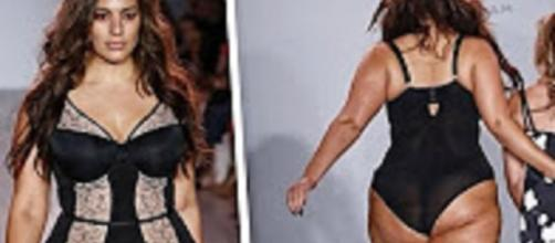 Youtube ET online. Plus-sized model Ashley Graham turned down by designer houses.