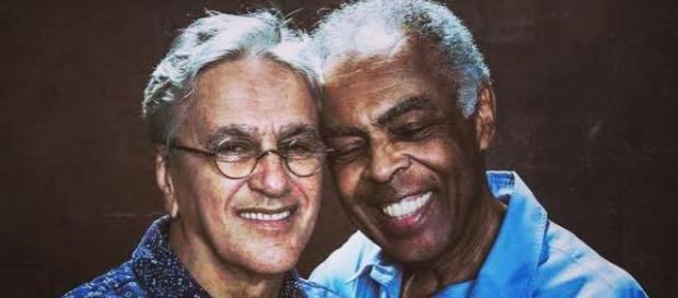 Amigos durante anos, Caetano e Gil concorrem ao prêmio de Melhor Álbum Internacional