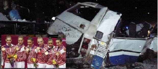 Dez ginastas acrobáticas não sobreviveram ao acidente neste ultimo domingo