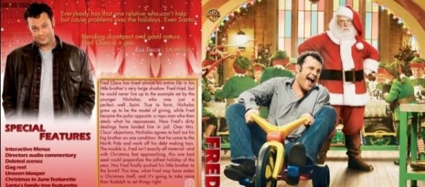 Fred Claus - Movie DVD Custom Covers - fred claus1 ::