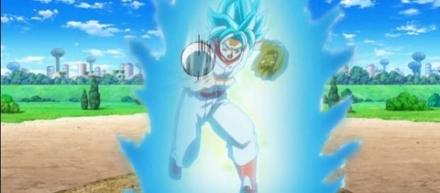 Goku en los avances del episodio 70