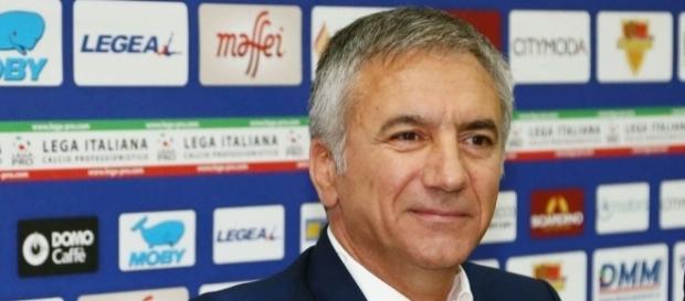 Mauro Meluso, direttore sportivo del Lecce.