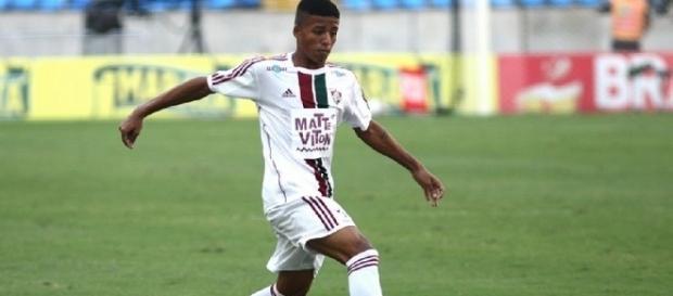 Paulinho: um dos destaques do atual elenco sub-20 do Fluminense (Foto: Site Oficial do FFC)