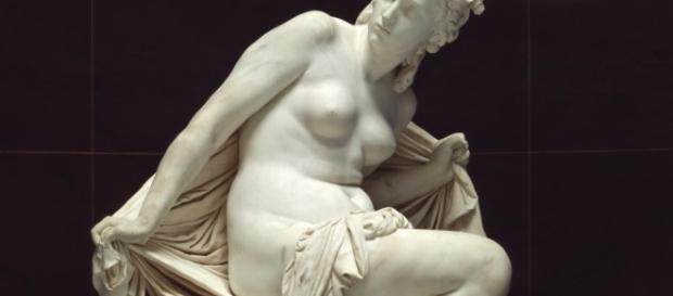 "Reinhold Begas' ""Susanna"" (1869-72) Pinterest.com Creative Commons"